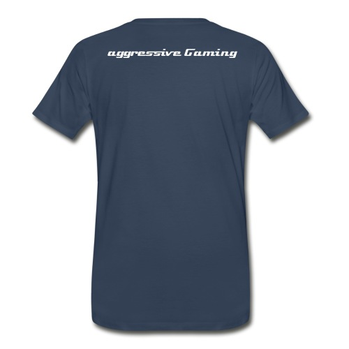 Aggressive Gaming T - Blue - Men's Premium T-Shirt