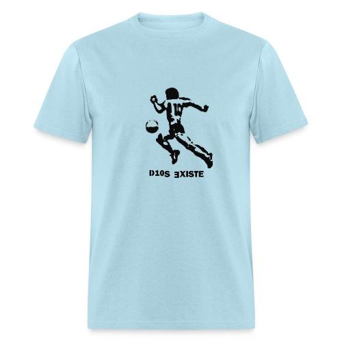 GOD EXISTS MARADONA STENCIL - Men's T-Shirt