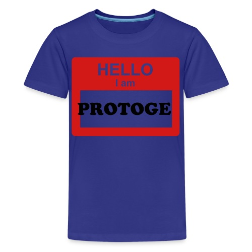 Hello i am Protoge - Kids' Premium T-Shirt