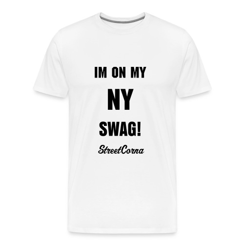 NY Swag shirt - Men's Premium T-Shirt