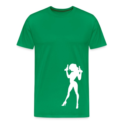 Caught- Green - Men's Premium T-Shirt