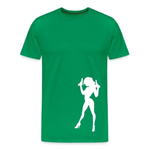 Caught- Green - Men's Premium T-Shirt