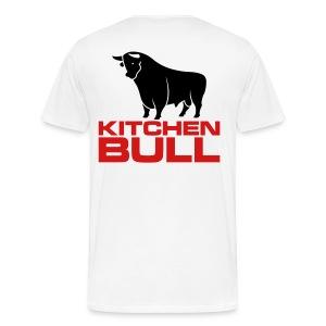 Men's 3XL Kitchen Bull T-Shirt - Men's Premium T-Shirt