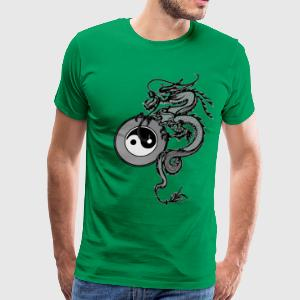 Tai Chi Dragon - Men's Premium T-Shirt