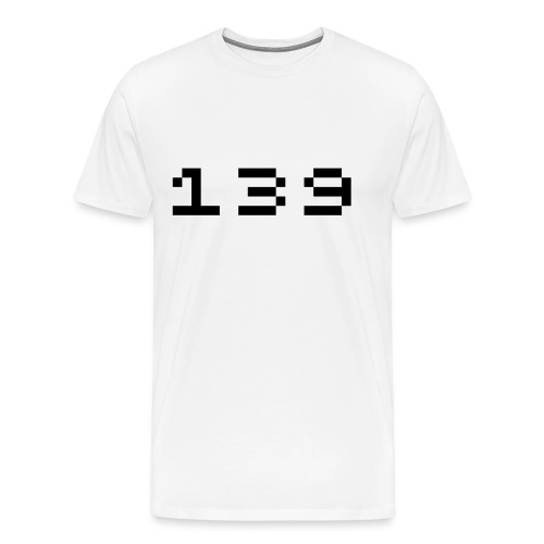 Men's White T - Men's Premium T-Shirt