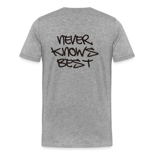 duh - Men's Premium T-Shirt