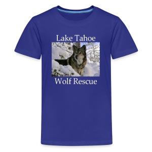 LTWR Logo with White text - Kids' Premium T-Shirt