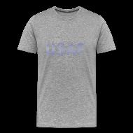 T-Shirts ~ Men's Premium T-Shirt ~ USAF distressed logo Heavyweight Tee