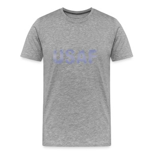 USAF distressed logo Heavyweight Tee - Men's Premium T-Shirt