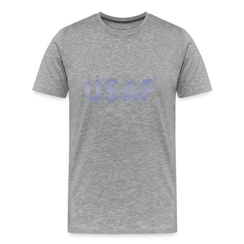 USAF distressed logo Heavyweight Tee - Men's Premium T-Shirt