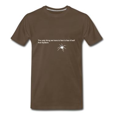 fear and spiders quote [white design]