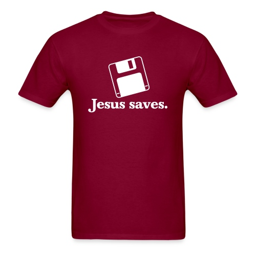 Jesus Saves Tee - Men's T-Shirt