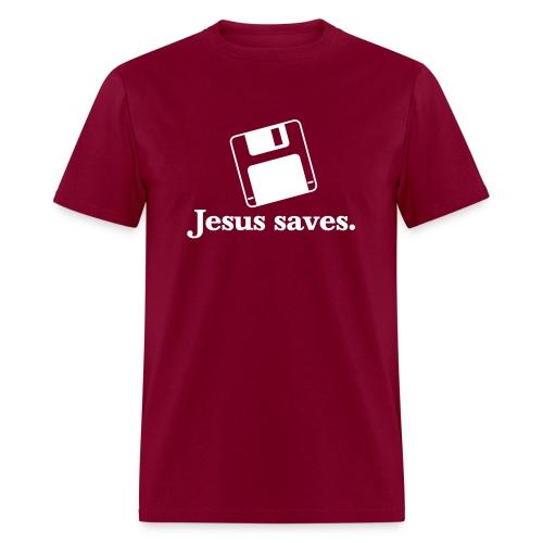 Jesus Saves Tee - Men's T-Shirt