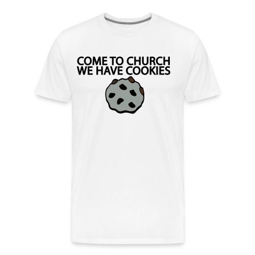 Church Cookies Tee - Men's Premium T-Shirt