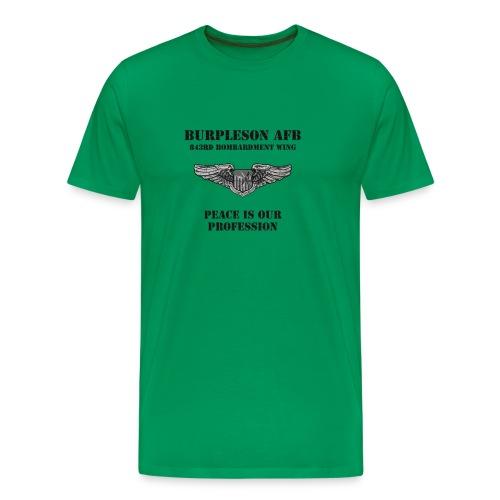 BURPLESON AFB - PEACE IS OUR PROFESSION - Men's Premium T-Shirt