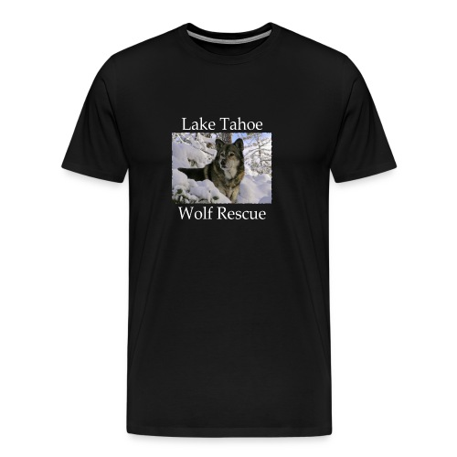 LTWR Logo with White text - Men's Premium T-Shirt