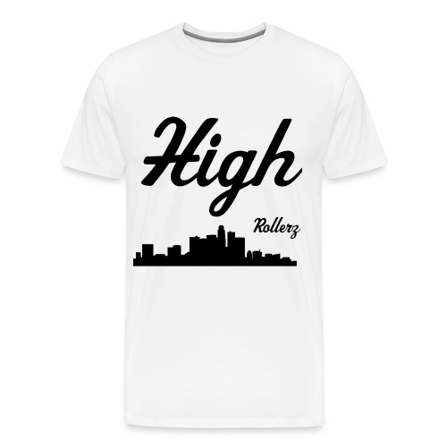 High Rise by High Rollerz - Men's Premium T-Shirt