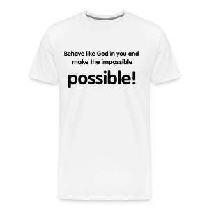 Impossible possible - Men's Premium T-Shirt