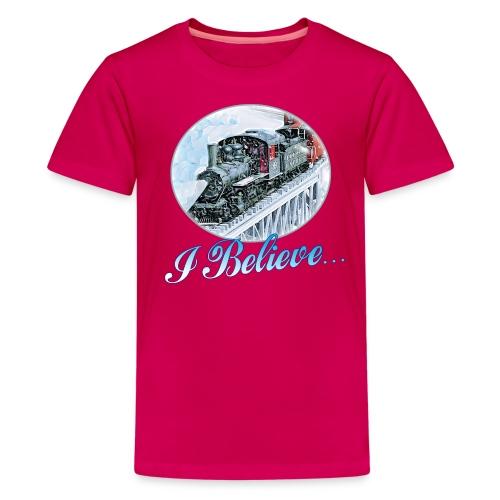 I BELIEVE T-Shirt Kids - Kids' Premium T-Shirt