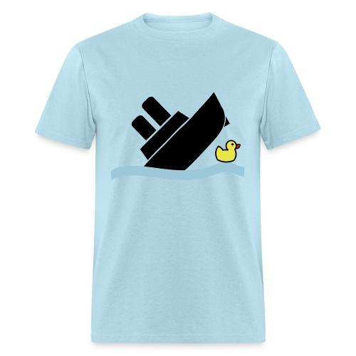 Sinking Ship Shirt - Men's T-Shirt