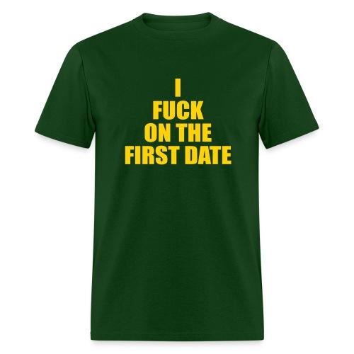 IFuck Green/Gold - Men's T-Shirt