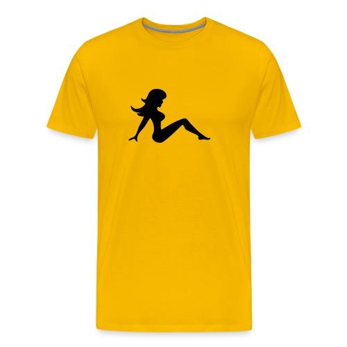Girl Heavyweight T-Shirt - Men's Premium T-Shirt