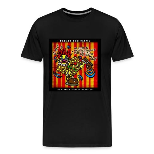 3XL -  Blights Feetz T Shirt - Men's Premium T-Shirt
