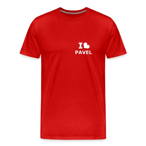 I Heart Pavel (Red) - Men's Premium T-Shirt