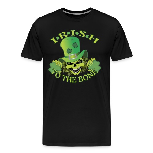 IRISH SKULL - Men's Premium T-Shirt