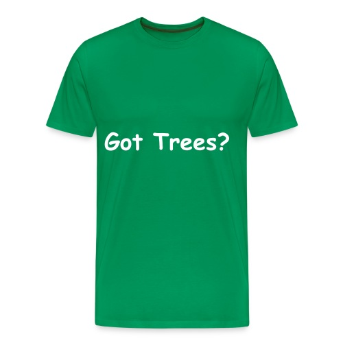 Men's Premium T-Shirt - tree,got trees,got,Trees