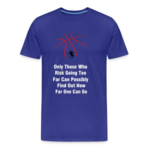 Basketball Risk - Men's Premium T-Shirt