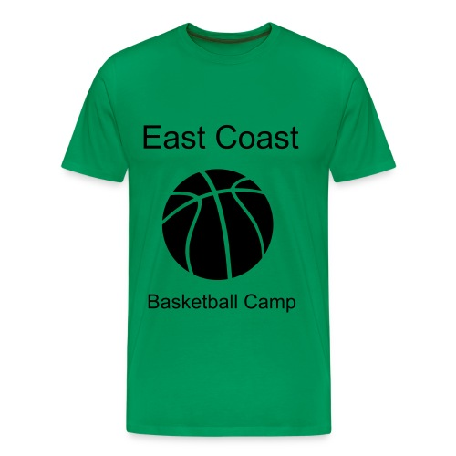 East Coast Basketball Camp - Men's Premium T-Shirt