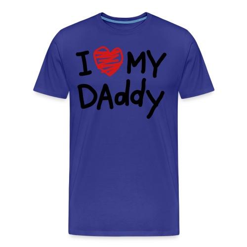 I love my DAD<3  Dont You?? - Men's Premium T-Shirt