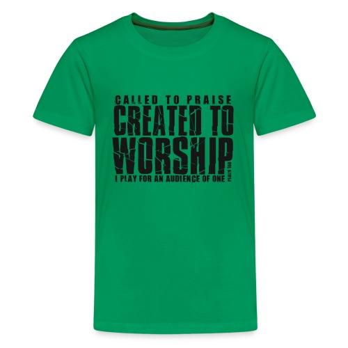 Created To Worship - Kids' Premium T-Shirt