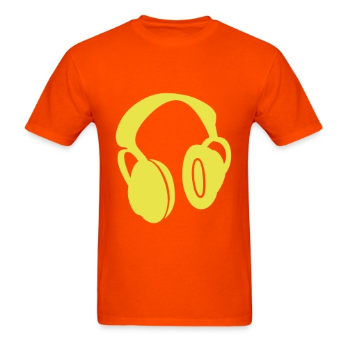 Men's Headphones - Men's T-Shirt