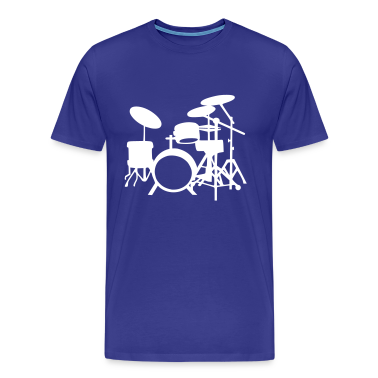 Royal blue Drums T-Shirts