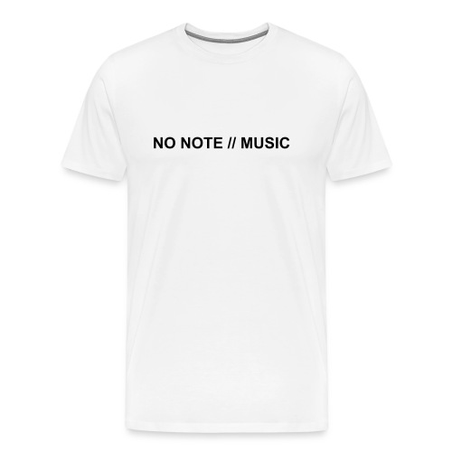 NO NOTE - Men's Premium T-Shirt
