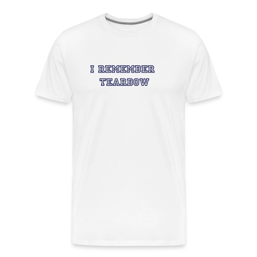 Tearbow Shirt - Men's Premium T-Shirt
