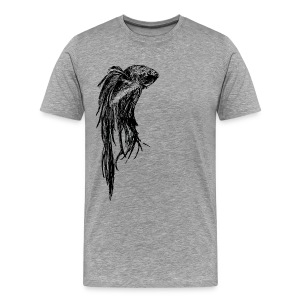 Beta Fish - Men's Premium T-Shirt