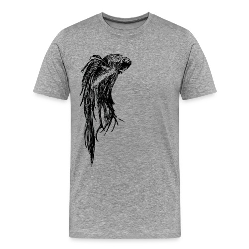 Beta Fish - Men's Premium T-Shirt