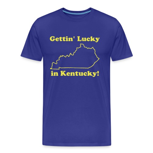 Lucky in Kentucky - Men's Premium T-Shirt