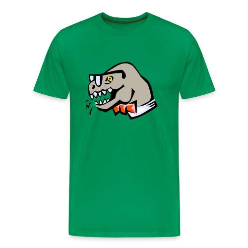 smart dinosaur - Men's Premium T-Shirt