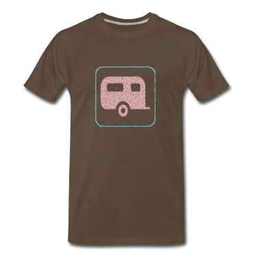 Chocolate A TRAILER T-Shirts