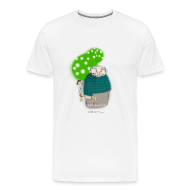 T-Shirts ~ Men's Premium T-Shirt ~ Men's Heavyweight - Selfish Giant