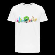 T-Shirts ~ Men's Premium T-Shirt ~ Men's Heavyweight - Oscar Wilde Banner
