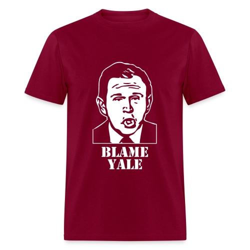 Blame Yale T-Shirt - Men's T-Shirt