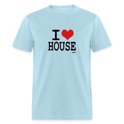 I Love House Tee - Men's T-Shirt