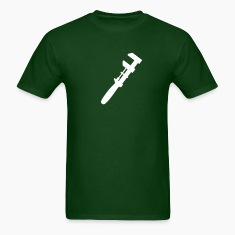 Green with Wrench T Shirt