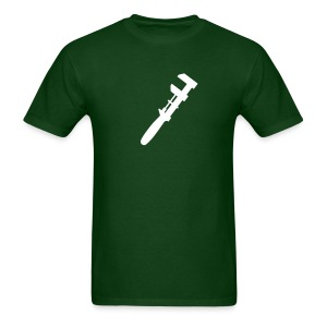 Green with Wrench - Men's T-Shirt