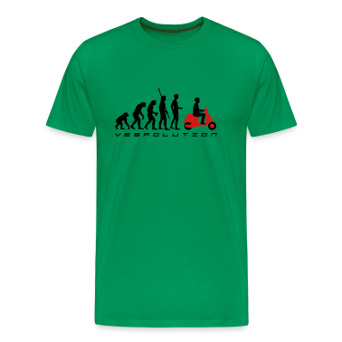 Sage evolution_vespa_b_2c T-Shirts